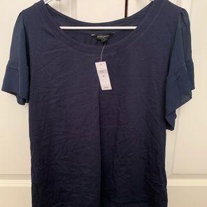 NWT Banana Republic blue shirt